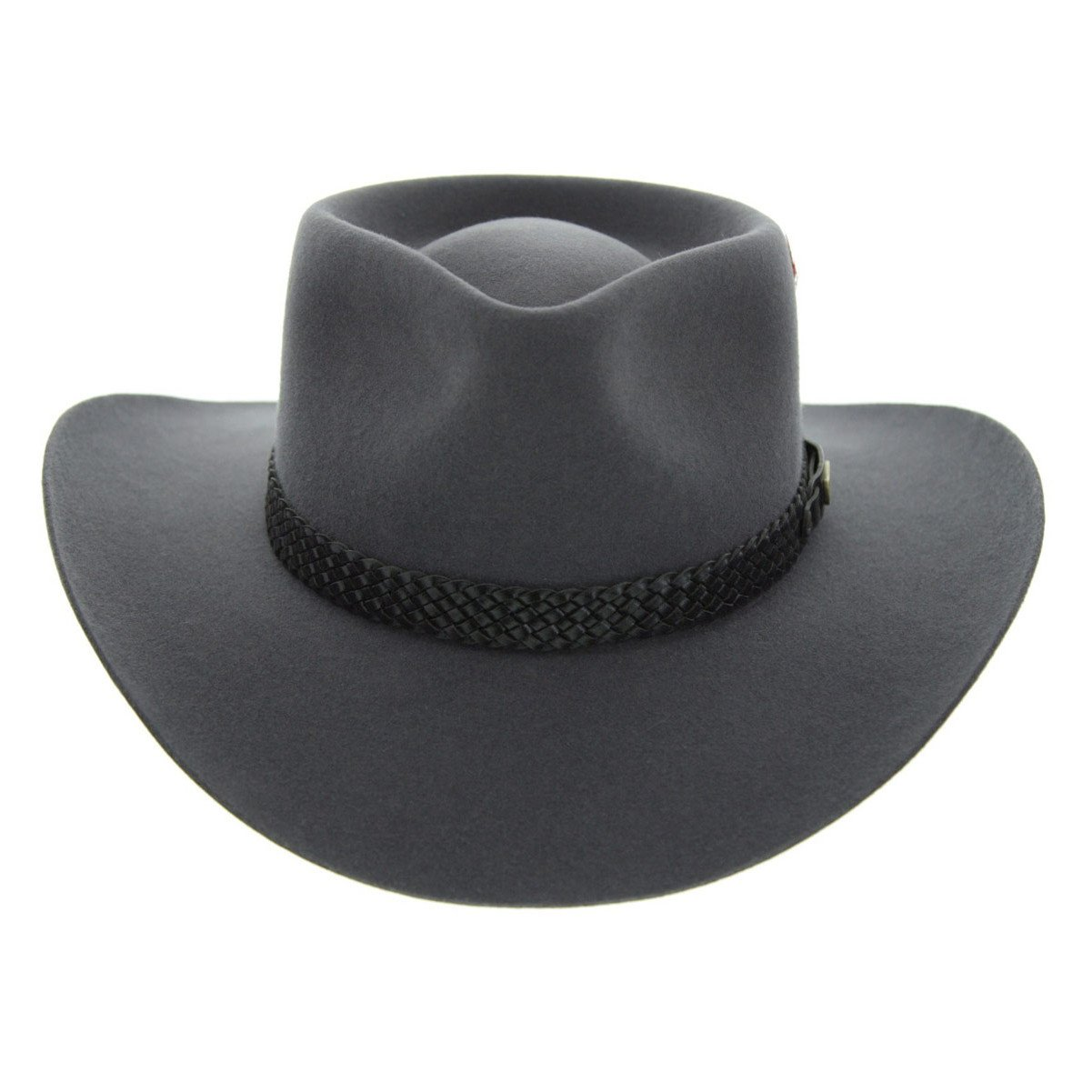 Akubra Snowy River Hat - Glen Grey - Made To Order  e18a9c78abf