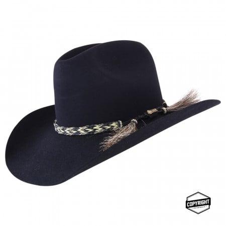 785dbd54 Akubra Rough Rider - Black   Hats By The Hundred
