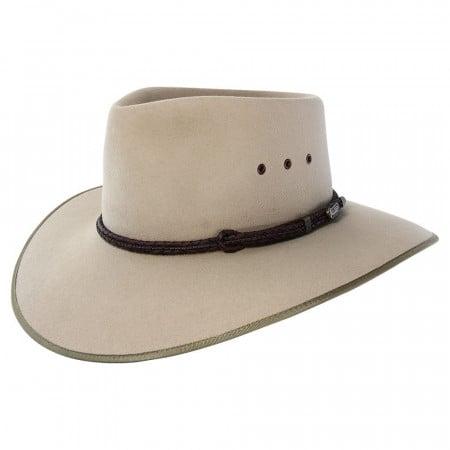 Akubra Cattleman Hat - Sand - Hats 100 81e90fa5cbc3
