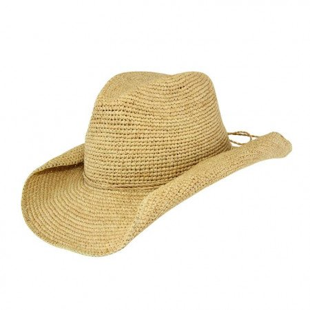 5bafa827172 Summer Lovin  - Raffia Cowboy Hat - Natural