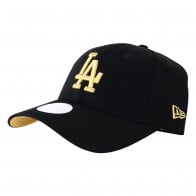 d69b1ef344b New Era - Los Angeles Dodgers - Womens 9FORTY - Black Gold ...